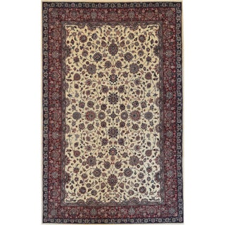 "Mansour Quaity Handwoven Tabriz - 6' X 9'3"" For Sale"