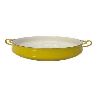 Jens Quistgaard Dansk Designs Kobenstyle Large Enamel Paella Pan For Sale
