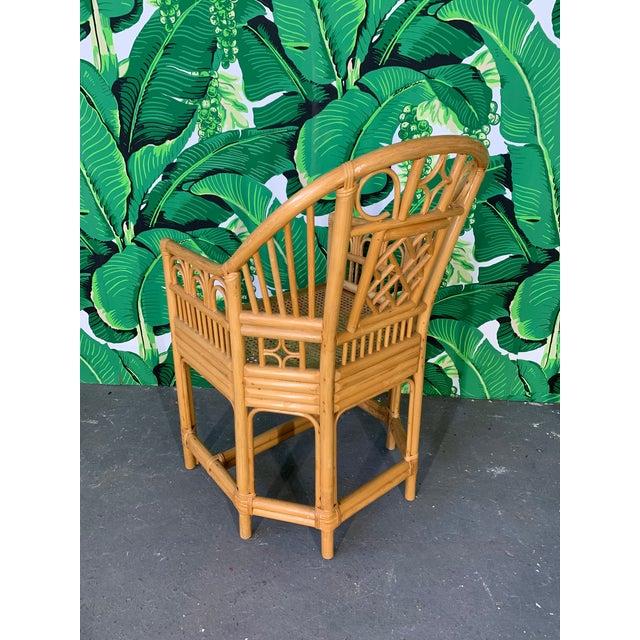 Brighton Pavilion Brighton Pavillion Style Dining Chairs - Set of 4 For Sale - Image 4 of 9