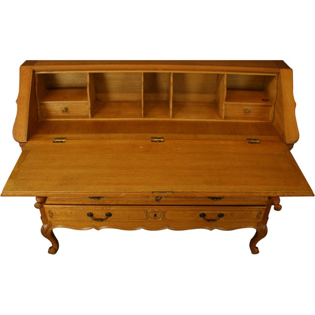 Vintage French Secretary Desk For Sale - Image 11 of 13