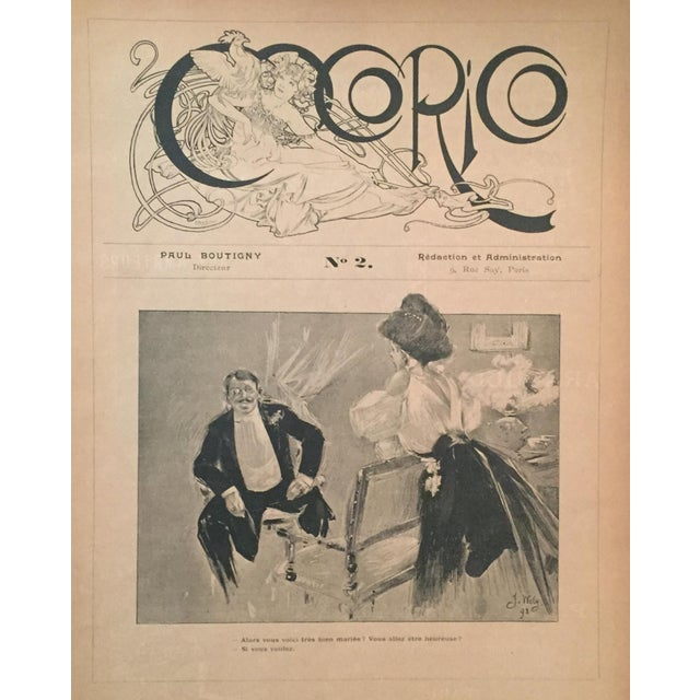 This Art Nouveau lithograph was design by Alphonse Mucha - the artist who, more than any other, was responsible for the...