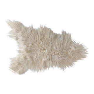 Icelandic Sheepskin Long Haired Throw/Rug For Sale