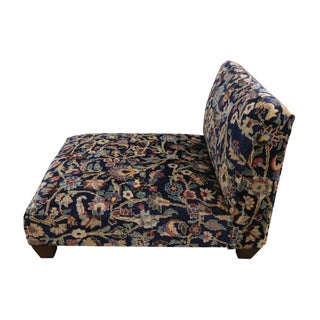 1880's Persian Low Profile Slipper Chair or Petbed From Antique Khorassan Rug Preview