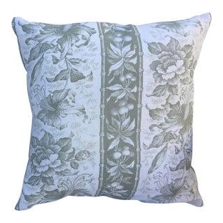 Bennison Linen Pillow For Sale