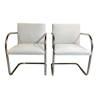 Knoll Tubular Brno Chairs - A Pair