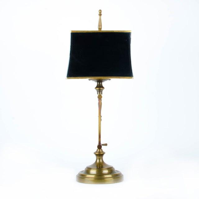 Ethan Allen Articulating Brass Lamp - Image 5 of 11