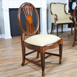 Niagara Furniture Round Back Inlaid Side Chair Preview