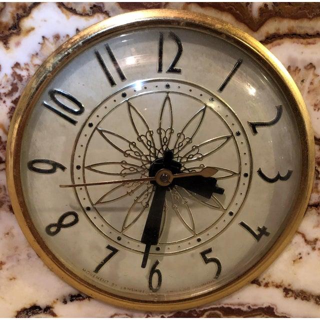 Lanshire Vintage Marble Slab Clock For Sale In Philadelphia - Image 6 of 10