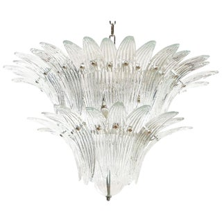 Tiered Palmette Chandelier by Fabio Ltd For Sale