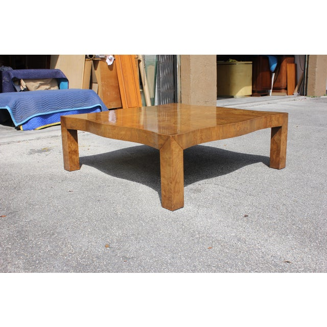 1970s Danish Modern Cherry Wood Coffee Table For Sale - Image 11 of 13