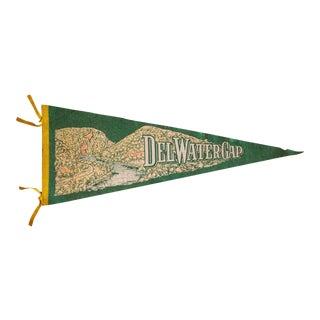 Delaware Water Gap Extra Large Felt Flag