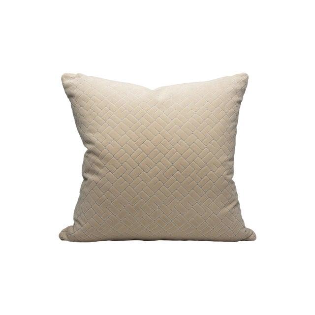 Scalamandre Vallaurius Velvet Pillow, Orgreat For Sale