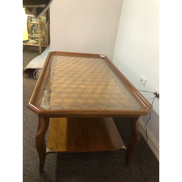 Vintage John Widdicomb Furniture Coffee Table For Sale In Chicago - Image 6 of 13