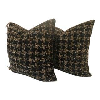 Holland & Sherry Accent Pillows - a Pair