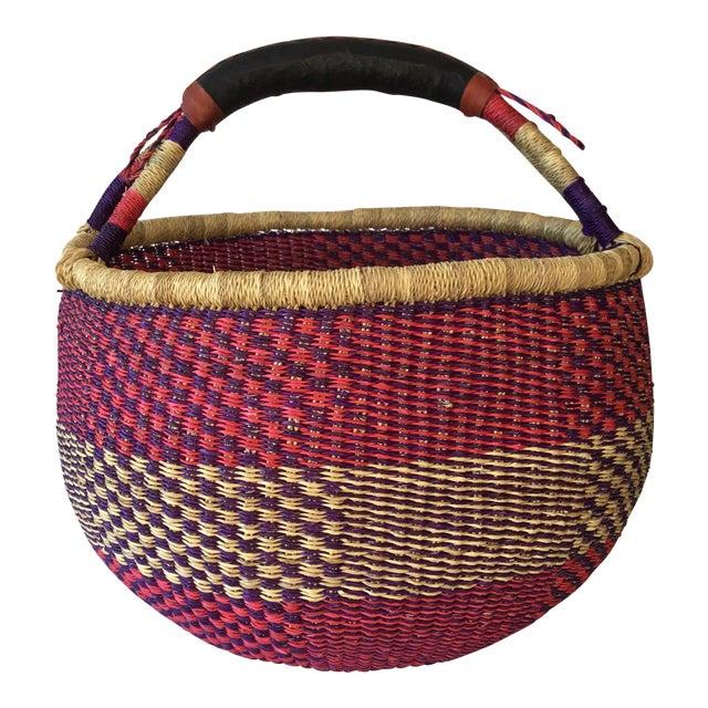 African Market Basket - Image 1 of 6