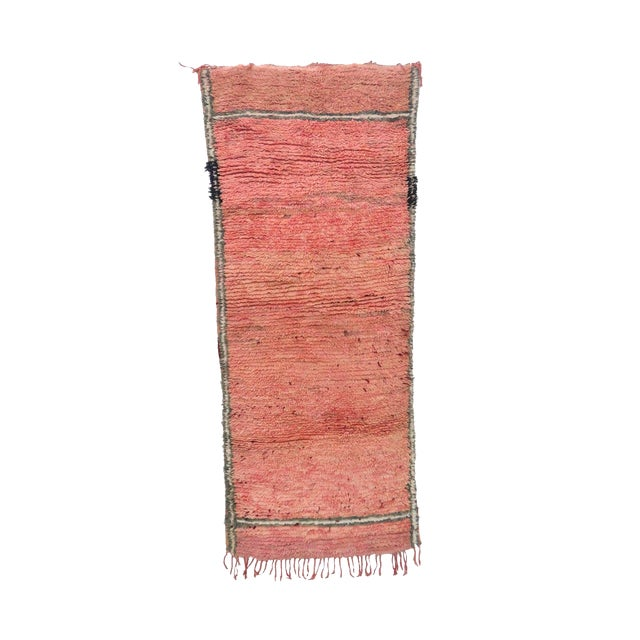 """Talsint Vintage Moroccan Rug, 2'11"""" X 4'1"""" Feet For Sale"""