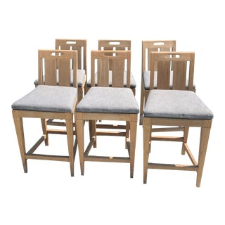 David Sutherland Outdoor Classic Counter Chairs- Set of 6 For Sale