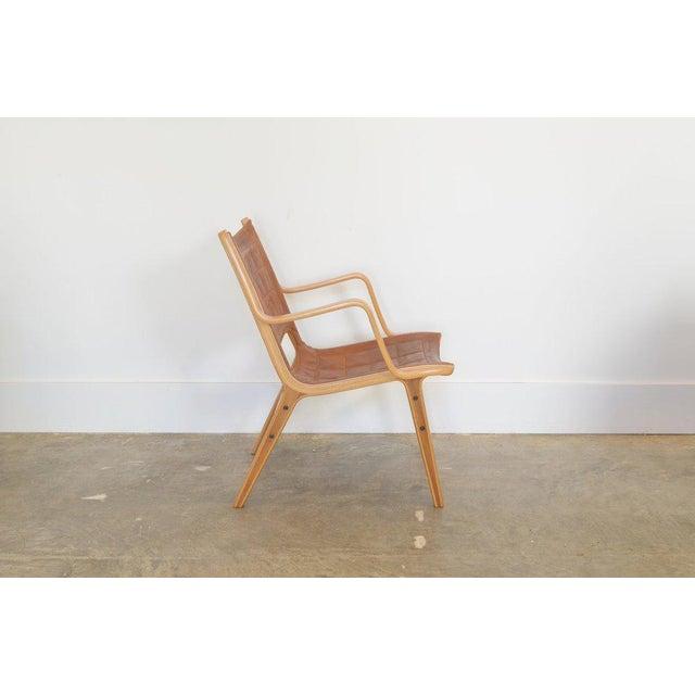 Ax Lounge Chair by Peter Hvidt & Orly Mølgaard-Nielsen. Mfg: Fritz Hansen c. 1954 Denmark