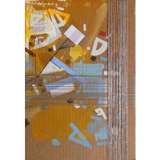"Contemporary Acrylic Painting on Cardboard ""Amitty Veraandha"" by Philippe Halaburda For Sale"