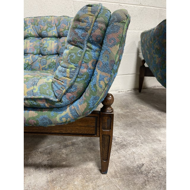 1970s Castro Convertible Barrel Chairs - a Pair For Sale In Richmond - Image 6 of 8