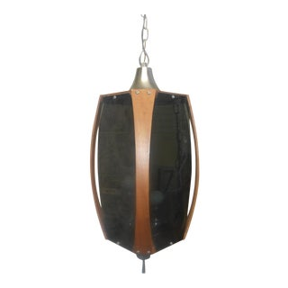 1960's Authentic Mid-Century Modern Hanging Swag Lamp
