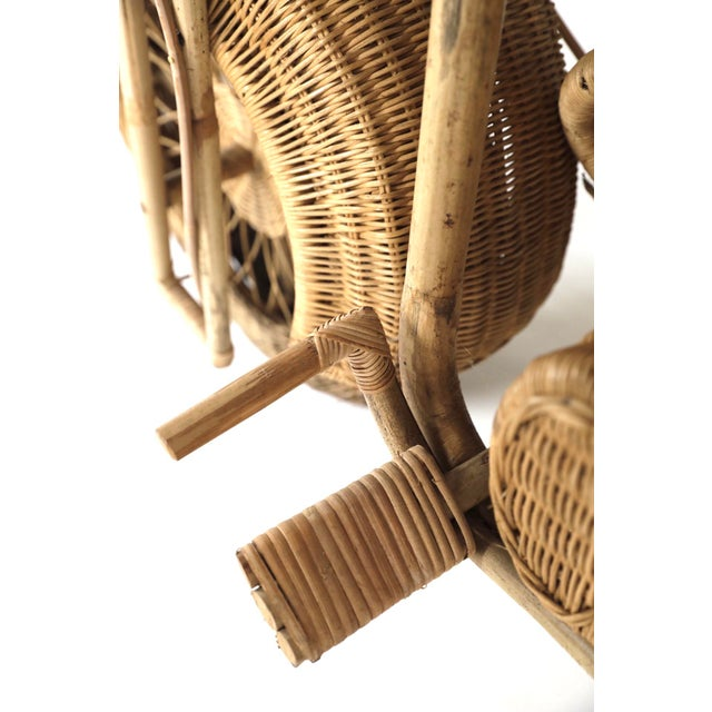 Tom Dixon Rattan Motorcycle Sculpture For Sale - Image 12 of 13