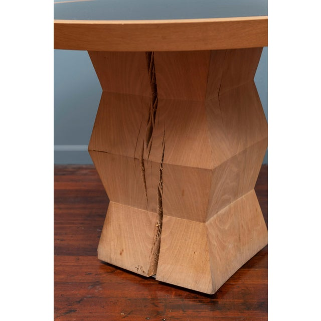 2000 - 2009 Christian Liaigre Yquem Pedestal Table For Sale - Image 5 of 9
