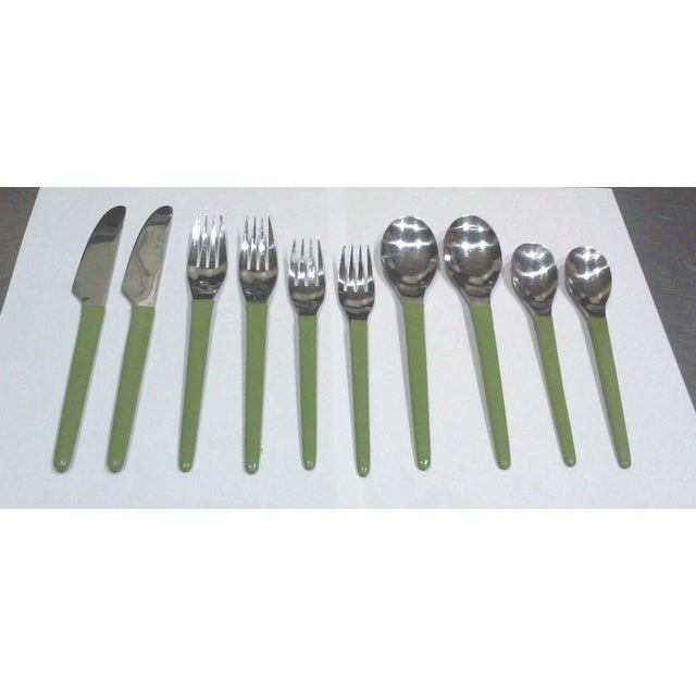 1970's Stainless Modern Flatware - 12 Pieces - Image 7 of 7