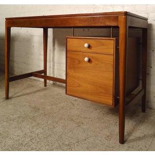 Kipp Stewart Mid-Century Modern Walnut Desk