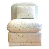 Image of Slipper Chair in the Style of Donghia For Sale