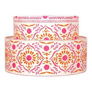 John Robshaw Floral Hand Block Print Tier Lamp Shade