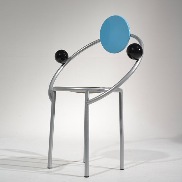 Michele De Lucchi First Chair for Memphis, Milano For Sale In Los Angeles - Image 6 of 13