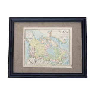 Antique Map of Canada For Sale