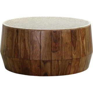 Savona Inlay Mango Wood Coffee Table For Sale