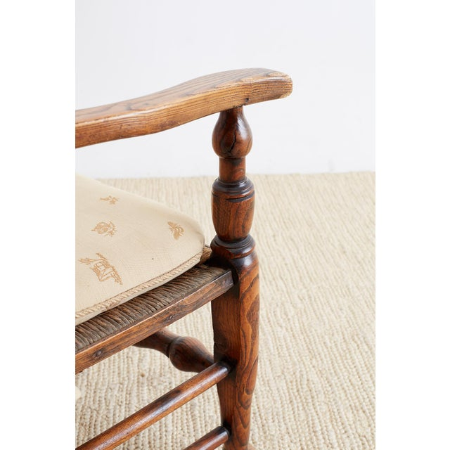 Mid 19th Century 19th Century English Ladder Back Chair For Sale - Image 5 of 13