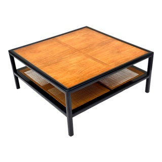 Mid Century Modern Michael Taylor Coffee Table for Baker Furniture For Sale