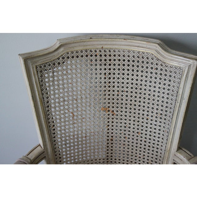 Antique French Caned Chair - Image 6 of 8