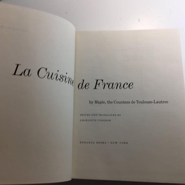 1964 La Cuisine De France Countess De Toulouse-Lautrec Book For Sale - Image 4 of 13