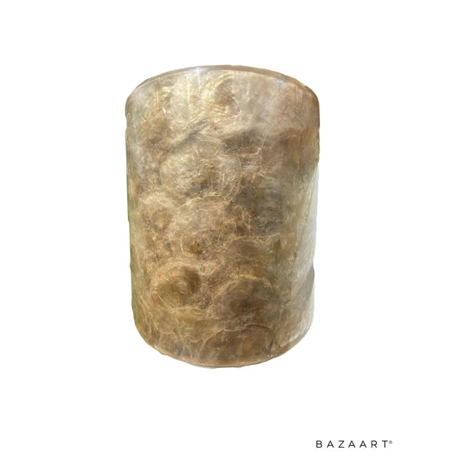 1980s Mid-Century Modern Capis Shell Vase For Sale - Image 5 of 6