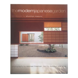 """The Modern Japanese Garden"" Modernist Hardcover Design Book"