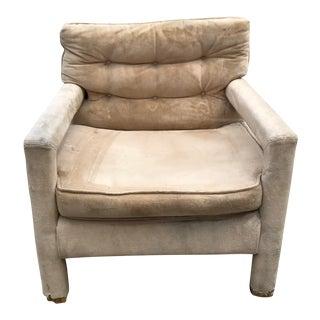 Milo Baughman Parson Arm Chair