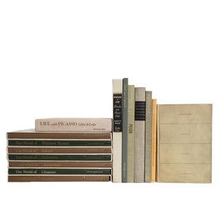 Flax & Sage Art History Book Set For Sale