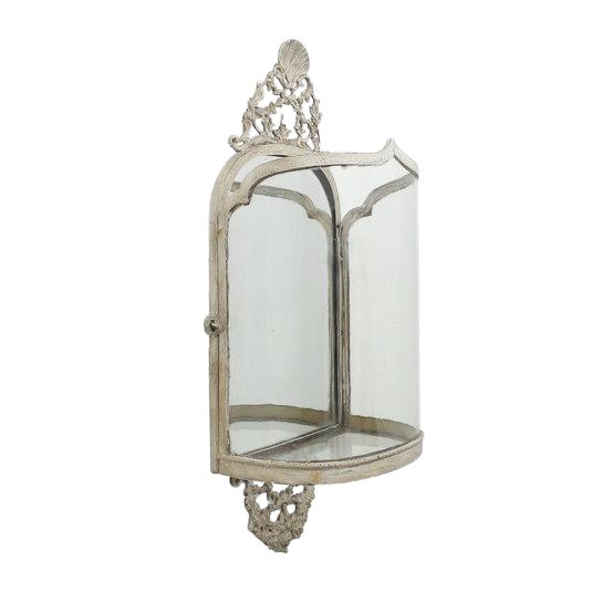 Queen Anne Style Wall Lantern For Sale
