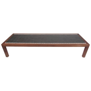 Long and Low Mid-Century Mosaic Tile Coffee Table by Gordon and Jane Martz For Sale