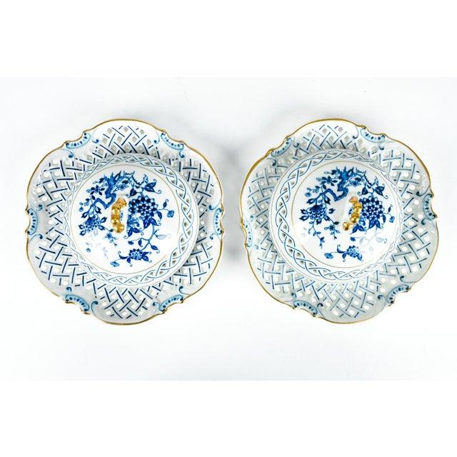 Ceramic 4 Piece Set of Porcelain Tableware For Sale - Image 7 of 13