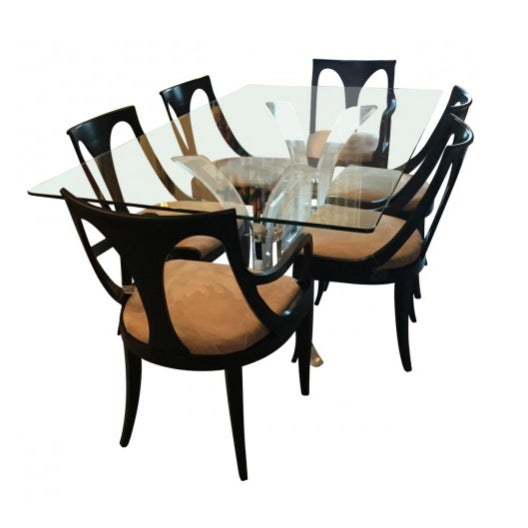 Kindel Belvedere Empire Armchairs & Side Chairs - Set of 6 For Sale In Austin - Image 6 of 6