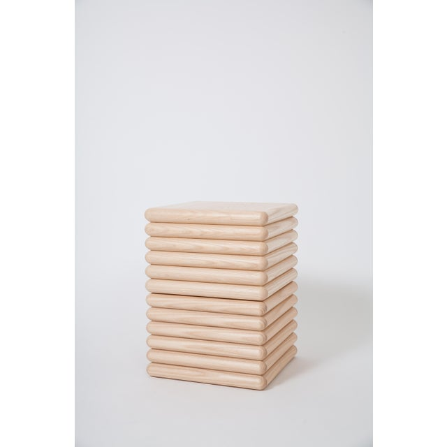 White Ash Ridge Side Table For Sale In Washington DC - Image 6 of 6