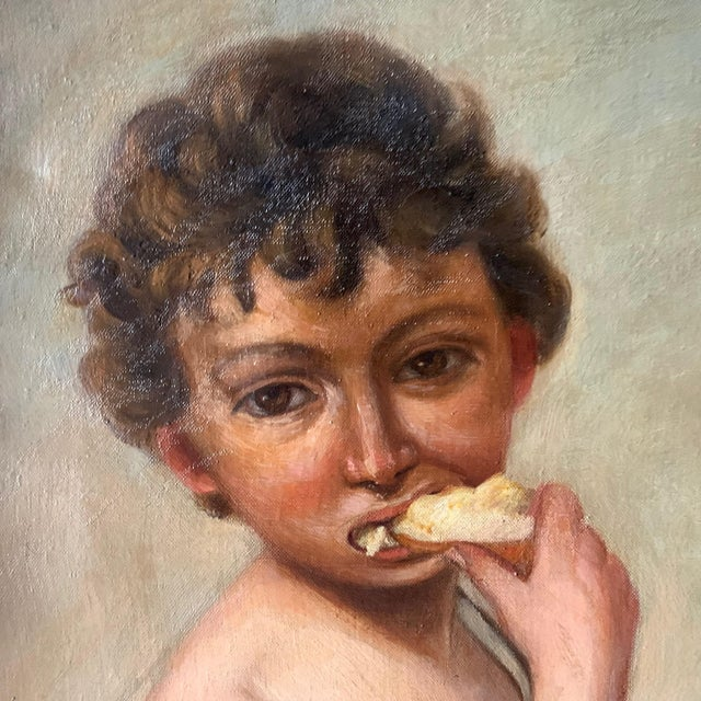 Late 19th Century 19th Century Copy After Bartolomé Esteban Murillo For Sale - Image 5 of 13