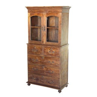 Early 20th Century British Colonial Cabinet
