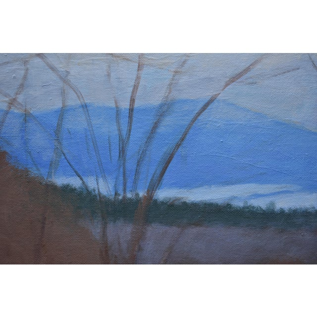 """Stephen Remick Stephen Remick """"Heading Up the Hill, Looking Back"""" Large Contemporary Landscape Painting For Sale - Image 4 of 12"""